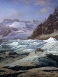 Nuit des musées 2018 -la classe, l'oeuvre ! - Autour du tableau de Claude Hugard de La Tour, La mer de glace