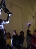 Nuit des musées 2018 -La galerie des sculpture à la torche