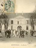 Journées du patrimoine 2016 -Visite commentée de la mairie et de la place de la mairie