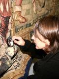 Journées du patrimoine 2016 -La restauration des tapisseries de la Chaise-Dieu