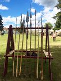 Journées du patrimoine 2016 -La troupe gauloise Lance Arverne à Montrozier !