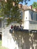 Journées du patrimoine 2016 -Chantier participatif - Entretien et nettoyage des murs des douves du château de La Chapelle-Gauthier