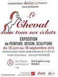 Journées du patrimoine 2016 -Le Cheval sous tous ses éclats