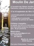 Journées du patrimoine 2016 -Le Moulin De Janlard
