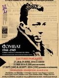 Journées du patrimoine 2016 -Lecture théâtrale : Combat 1939-1944. Albert Camus ou la pratique de l'Idéal.