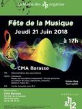 Fête de la musique 2018 - Les chanteurs Stéphane & Stéphanie puis le DJ Bouba