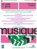 Fête de la musique 2018 - Les ensembles des élèves du conservatoire en concert