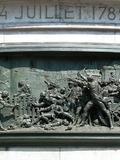 Journées du patrimoine 2016 -Les hauts-reliefs en bronze du socle de la statue de la République (Place de la République)