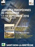 Journées du patrimoine 2016 -Visite commentée du hameau de la Tuilerie et du golf