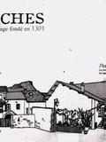 Journées du patrimoine 2016 -Les Marches: Village fondé en 1301