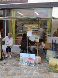 Journées du patrimoine 2016 -Les peintres dans la rue