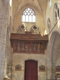 Journées du patrimoine 2016 -Les peintures du XVI° siècle de la tribune d'orgues de l'Eglise de Boiscommun : Spectacle historique