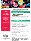Rendez Vous aux Jardins 2018 -Animation pour les élèves des écoles de Bourbon-Lancy