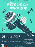 Fête de la musique 2018 - Les Sharx / Sasha Lysp / Marie Lescureux / Sabrina Bellefont / Antoine l'Artiste