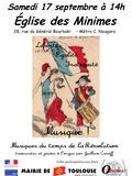 Journées du patrimoine 2016 -Liberté, Egalité, Fraternité... Musique !