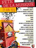 Fête de la musique 2018 - Liberty Duo, Sylvain Corto et Emilie Brévot, Les Zanisées