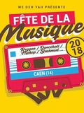 Fête de la musique 2018 - M.Critik et Jahrmony backing band, Selecta Néko, Matthieu Le Crosnier, Selecta Major T