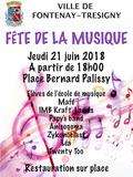 Fête de la musique 2018 - Mafé / IMB Kraft' Ladies / Papy's band / Anisogoma / Zykonoclast / Léa / Twenty Too