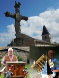 Journées du patrimoine 2016 -Maquettes et orgue de Barbarie à la Chapelle de Feillens (01)
