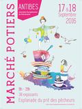 Journées du patrimoine 2016 -Marché Potiers d'Antibes 2016