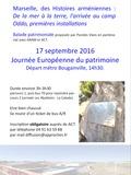 Journées du patrimoine 2016 -Marseille, des Histoires arméniennes : De la mer à la terre, l'arrivée au camp Oddo, premières installations