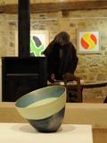 Journées du patrimoine 2016 -Martine Damas & Anne Goujaud dans l'ancien grenier à sel