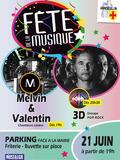 Fête de la musique 2018 - Melvin & Valentin / 3D