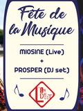 Fête de la musique 2018 - Miosine + Prosper (Électro)