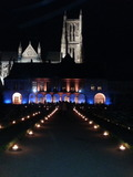 Nuit des musées 2018 -Mise en lumière nocturne du jardin Bossuet