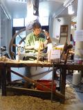 Journées du patrimoine 2016 -Démonstration de savoir-faire au musée du Bois et de la Marqueterie