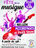 Fête de la musique 2018 - Neluzik / Accord'ages / ProDj Show