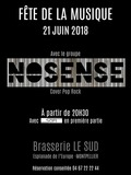 Fête de la musique 2018 - Nosense en concert avec en première partie Soft (duo acoustique)
