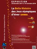 Nuit des musées 2018 -Nuit d'exploits et d'émotion avec la Belle Histoire des J.O. d'hiver. Projections