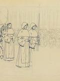 Nuit des musées 2018 -Les personnages sortent des dessins de Louis-Maurice Boutet de Monvel (1850-1913)