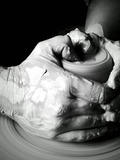 Nuit des musées 2018 -Démonstration de tournage de céramique au musée Dupuy-Mestreau