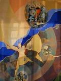 Journées du patrimoine 2016 -Oeuvre contemporaine d'Art Sacré Egise St Jean-Baptiste