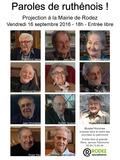 Journées du patrimoine 2016 -Paroles de ruthénois !