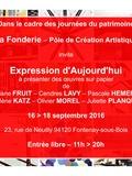 Journées du patrimoine 2016 -Galerie Expression d'Aujourd'hui