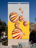 Journées du patrimoine 2016 -Peinture de 200 m² réalisée par Guillaume Bottazzi à Nice