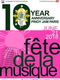 Fête de la musique 2018 - PinoyJam Paris fête ses 10 ans