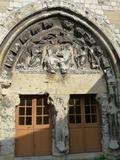 Journées du patrimoine 2016 -Visite commentée sur le portail de l'église