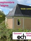 Journées du patrimoine 2016 -Portes ouvertes à la chapelle de la Faigne