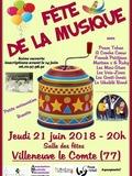 Fête de la musique 2018 - Poum Tchac / A Croche Coeur / Franck Petitjean / Martenn's & Ruby / Les mini-stars / Les Voix-Zines / Les Gratt-Innés / / Le Ukulélé Band