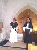 Journées du patrimoine 2016 -Cheignieu la Balme : Récital de musique et chants anciens par le duo Rêve Errance à la chapelle Saint-Claude