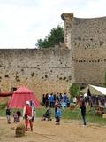 Journées du patrimoine 2016 -Reconstitution historique d'un campement médiéval du milieu du XVe siècle