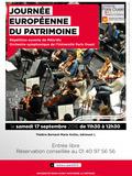 Journées du patrimoine 2016 -Répétition ouverte de Mélo'dix, orchestre symphonique de l'université
