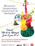 Fête de la musique 2018 - Représentation de l'orchestre universitaire