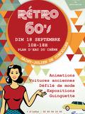 Journées du patrimoine 2016 -Rétro 60's