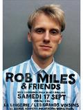 Journées du patrimoine 2016 -Rob Miles & Friends