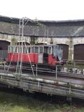 Journées du patrimoine 2016 -Rotonde ferroviaire et son pont tournant à Montabon 72500 inscrit au titre des monuments historiques